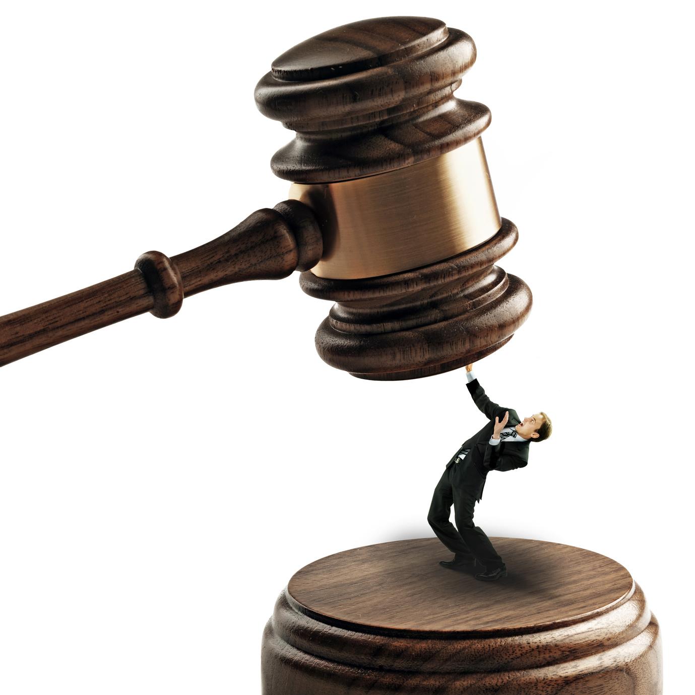 Anwältin klopft Handwerker weich