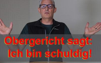Das Obergericht Aargau sagt: Ich bin schuldig