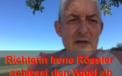 Irene Rössler und die zweite Konkursverhandlung