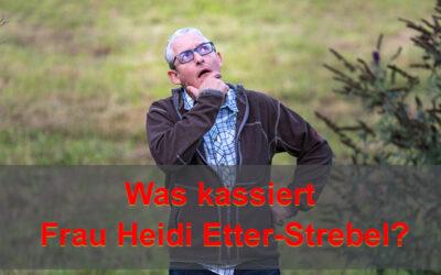 Was kassiert Frau Heidi Etter-Strebel