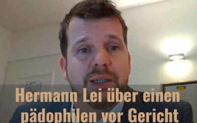 Ein Pädophiler und die Justiz in der Schweiz